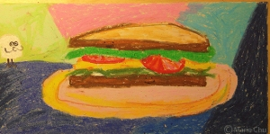 sandwich pastel